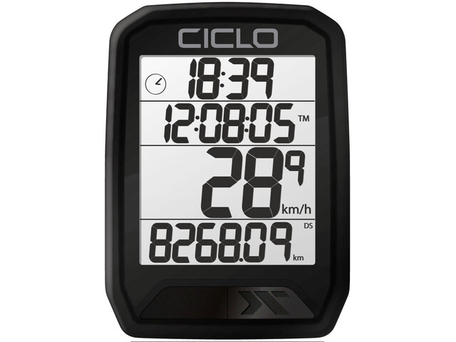 Ciclosport Protos 113 Ciclocomputer, black